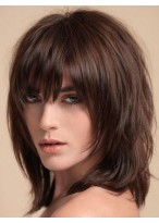 Top Quality Straight Capless Remy Human Hair Wig