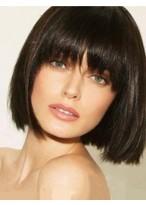 Modern Straight Capless Remy Human Hair Wig