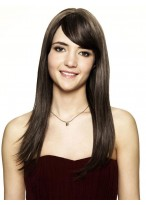 Natural Capless Remy Human Hair Straight Wig