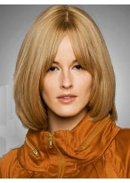 Straight Capless Remy Human Hair Wig