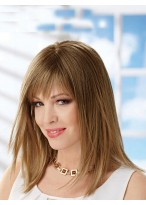 Adorable Remy Human Hair Straight Capless Wig