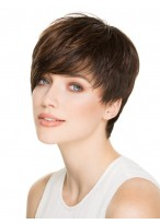 Brilliant Straight Capless Remy Human Hair Wig
