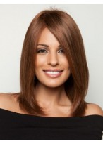 Shoulder-Length Cut Lace Perfect Human Hair Wig