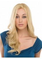 "20"" Wavy Human Hair Capless Wig"