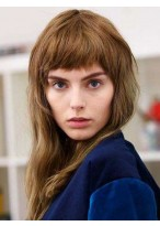 Attractive Straight Capless Remy Human Hair Wig