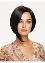 Chin Length Bob Style Lace Front Human Hair Wig