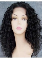 High Density Human Hair Curly Hairstyle Full Lace Wig