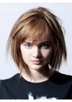 Pleasant Straight Capless Remy Human Hair Wig