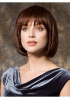 Silky Straight Capless Remy Human Hair Wig