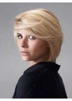Shimmering Straight Capless Remy Human Hair Wig