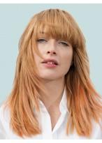 Long Popular Straight Capless Remy Human Hair Wig