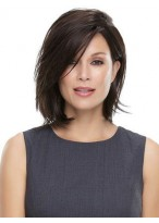 Discount Chin Length Lace Front Straight Remy Human Hair Wig