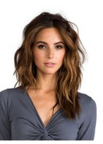 Wavy Lace Front High Quality Long Remy Human Hair Wig