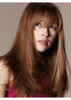 100% Human Hair Capless Straight Wig