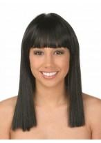 Black Straight Human Hair Wig