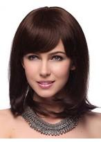 Medium Straight Capless Human Hair Wig