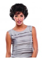 New Short Wavy Human Hair Wig