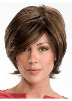 Graceful Short Wavy Real Hair Wig
