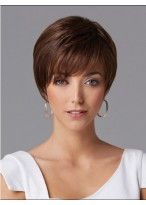 Short Straight Chic Human Hair Wig