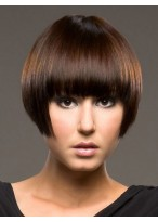 Charming Straight Short Capless Wig