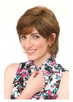 Wonderful Natural Short Human Hair Wig