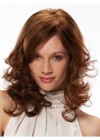 Medium Wavy Monofilament Remy Human Hair Wig