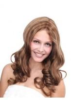 2014 New Style Long Wavy Human Hair Wig
