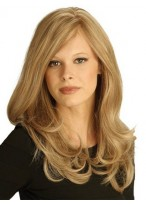 Long Wavy Lace Remy Human Hair Wig
