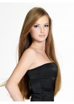 Full Lace Elegant Straight Remy Human Hair Wig