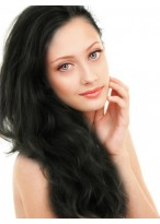 Long Charming Human Hair Lace Front Wig