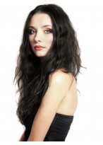 Wavy Attractive Human Hair Full Lace Wig