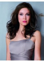Stylish Wavy Human Hair Full Lace Wig