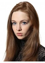Silky Straight Comfortable Remy Human Hair Full Lace Wig