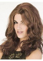 Fashionable Human Hair Capless Hairstyle Wig