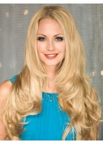 Lace Front Wavy Soft Remy Human Hair Wig