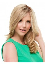 Wavy Lace Front Blonde Human Hair Wig