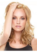 Charming Full Lace Wavy Remy Human Hair Wig