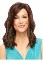 Wavy Full Lace Auburn Human Hair Wig