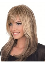 Classic Full Lace Wig With Bangs