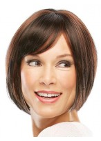 Short Capless Straight Attractive Wig