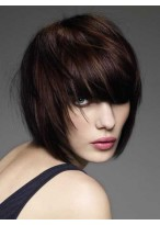 Glamorous Human Hair Lace Front Wig