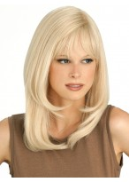 Marvelous Capless Straight Human Hair Wig