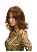 Hand Tied Wavy Remy Human Hair Wig