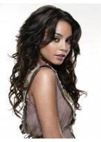 TopQuality Wavy Human Hair Lace Front Wig