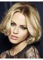 Medium Length Wonderful Lace Front Human Hair Wig