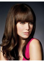 Brilliant Wavy Remy Human Hair Capless Wig