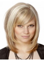 Shimmering Silky Straight Capless Remy Human Hair Wig