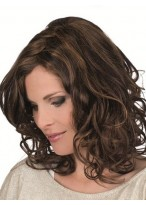 Magic Hand-Tied Lace Front Mono Top Wavy Wig