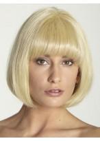 Bob Style Full Lace Stylish Human Hair Wig
