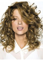 Voluminous Long Wavy Human Hair Lace Front Wig